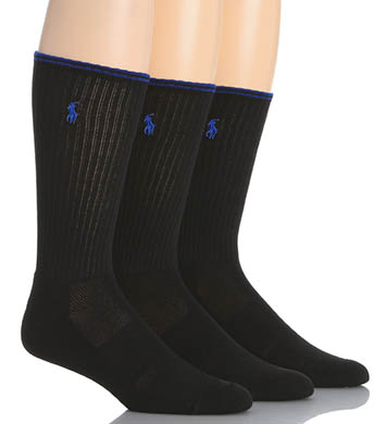 Polo Ralph Lauren Tech Crew Socks - 3 Pack