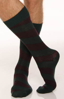 Polo Ralph Lauren Wide Diagonal Striped Socks - 2 Pack
