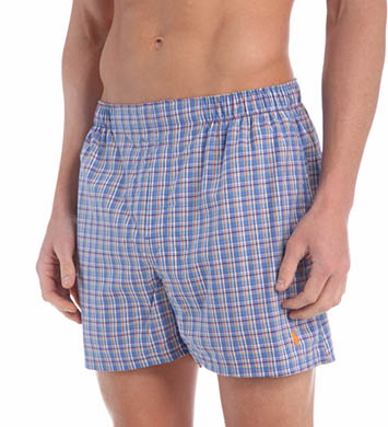 Polo Ralph Lauren Classic Fit 100% Cotton Woven Boxers - 3 Pack