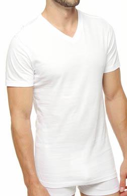 Polo Ralph Lauren Slim Fit Cotton V-Neck T-Shirts - 3 Pack