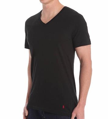 Polo Ralph Lauren 100% Cotton Folded V-Neck Shirt
