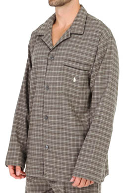 Polo Ralph Lauren Morgan Plaid Flannel Longsleeve Pajama Top
