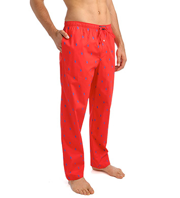 Polo Ralph Lauren Pony Player 100% Cotton Pajama Pants