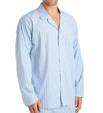Polo Ralph Lauren Birdseye 100% Cotton Woven Sleepwear Top