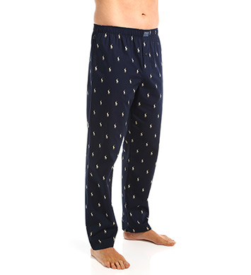 Polo Ralph Lauren Printed Polo 100% Cotton Woven Sleepwear Pant