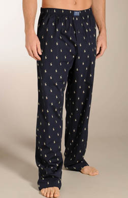Polo Ralph Lauren Big Man Printed Polo Woven Sleepwear Pant