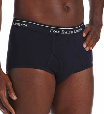 Polo Ralph Lauren Mid-Rise Briefs - 4 Pack