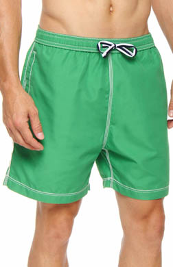 Psycho Bunny Solid Swim Trunks