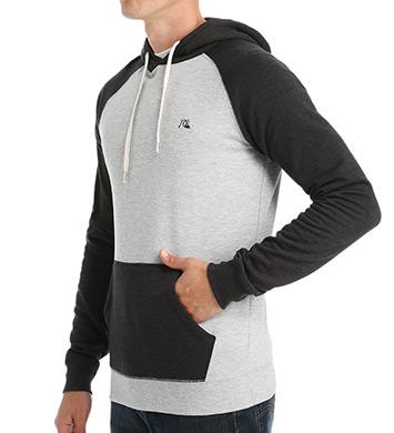 Quiksilver Major Block Zip Fleece Hood