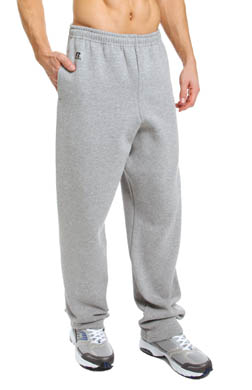 Russell Dri Power Open Leg Fleece Pants