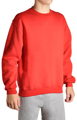 Russell Boys Dri Power Crewneck Sweatshirt