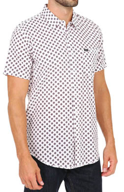 RVCA Drops Short Sleeve Button Down Shirt