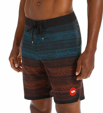 RVCA Waves Swim Trunk