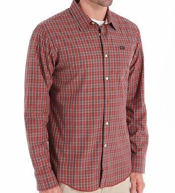 RVCA Oil Rag Long Sleeve Woven Shirt