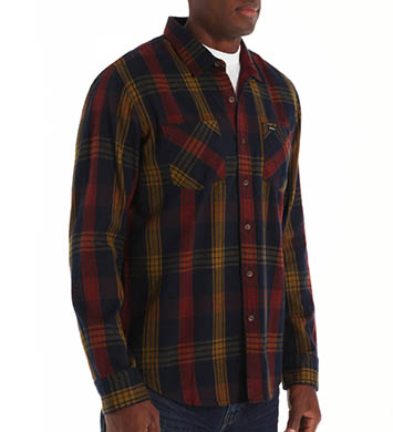 RVCA Warehouse Long Sleeve Woven Shirt