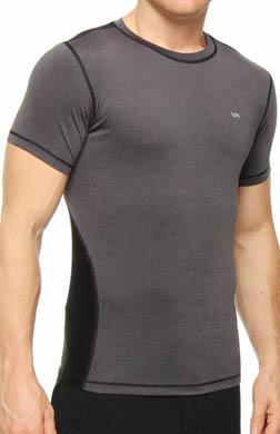 RVCA Pressure Short Sleeve Crew T-Shirt