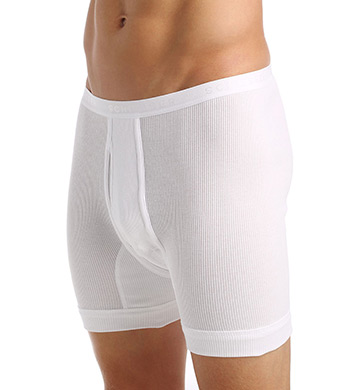 Schiesser Double Rib 100% Cotton Hose Kurz Short Trunk