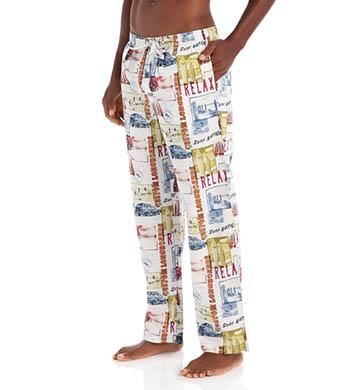 Tommy Bahama Sleepwear Naples Longboards Woven Sleep Pant