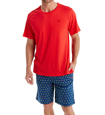 Tommy Bahama Lobster Claw Cotton Modal Short Set