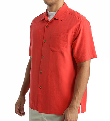 Tommy Bahama Special Delivery Food Truck Panel Camp Shirt