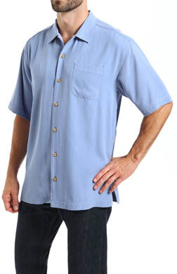 Tommy Bahama Catalina Twill Silk Camp Shirt