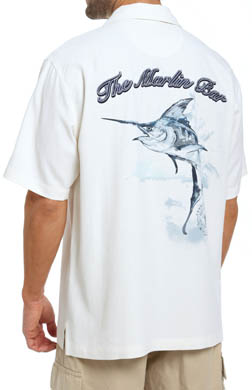 Tommy Bahama The Marlin Bar Silk Camp Shirt