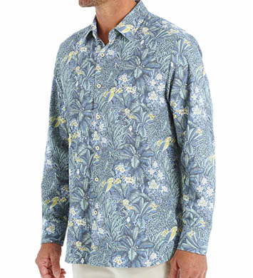 Tommy Bahama Flora Bora Long Sleeve Silk Shirt