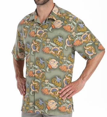 Tommy Bahama Hanauma Bay Floral Silk Shirt