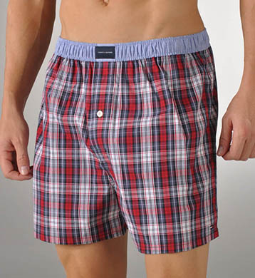 Tommy Hilfiger Walter Tartan Plaid Woven Boxer