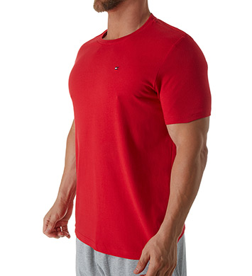 Tommy Hilfiger Basic 100% Cotton Core Flag Crew Tee