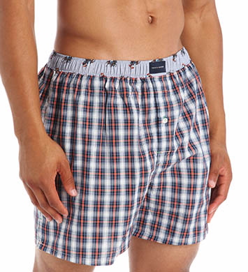 Tommy Hilfiger Woven Plaid Boxer