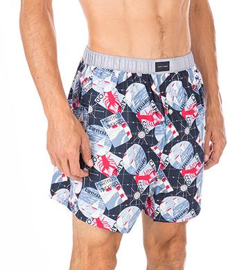 Tommy Hilfiger Fashion 100% Cotton Woven Boxer