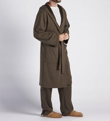 UGG Brunswick Double Knit Hooded Fleece Robe
