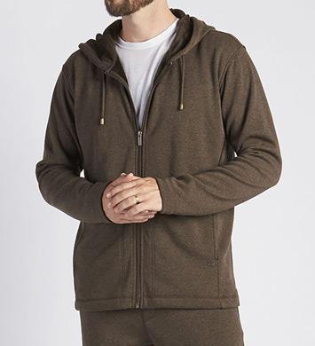 UGG Bownes Double Knit Full Zip Fleece Hoodie