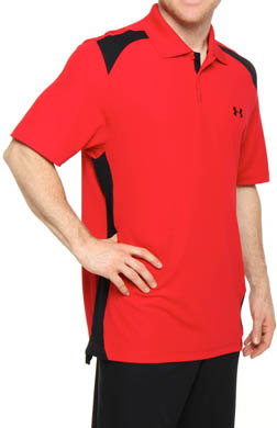 Under Armour HeatGear Performance Colorblock Polo