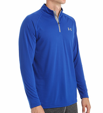 Under Armour HeatGear Tech 1/4 Zip Long Sleeve Shirt