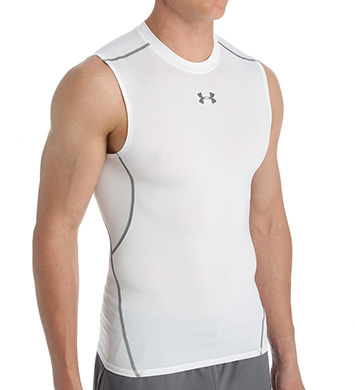 Under Armour Heatgear Armour Sleeveless Compression T-Shirt