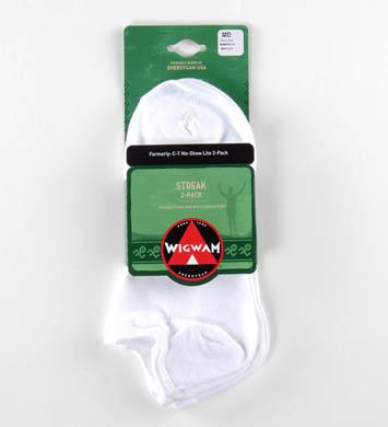 Wigwam Streak Ped Socks - 2 Pack