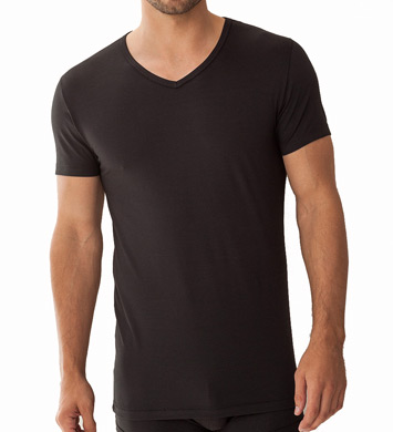 Zimmerli Pique Como V-Neck T-Shirt