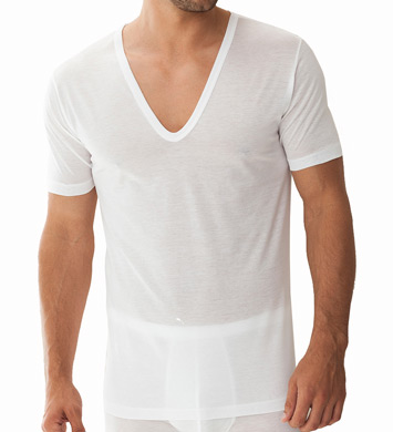 Zimmerli Royal Classic Deep V-Neck T-Shirt