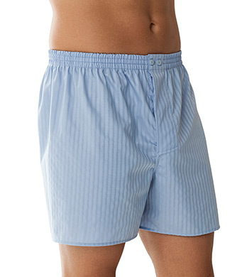 Zimmerli Cotton Woven Shadow Stripe Boxers