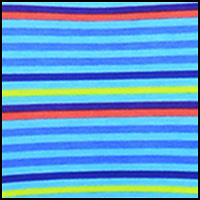 Pool Blue Multi Stripe