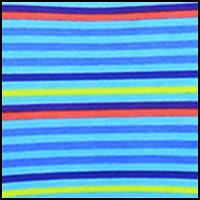 Pool Blue Multi Stripe