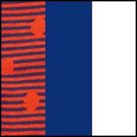 Orange/Limoges/White