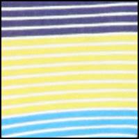 Pinstripe Blue Print