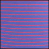 Mango/Cobalt Stripe