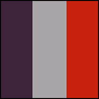 Silver/Violet/Red