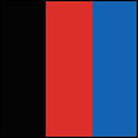 Black/Red/Royal Blue