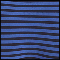 Berry Blue Fine Stripe