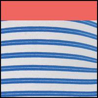 Blue March Stripe
